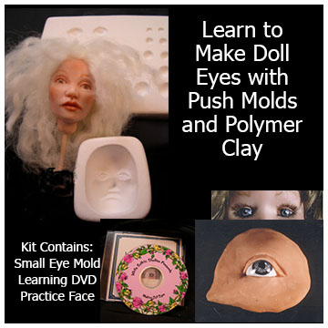 learn to make doll eyes kit